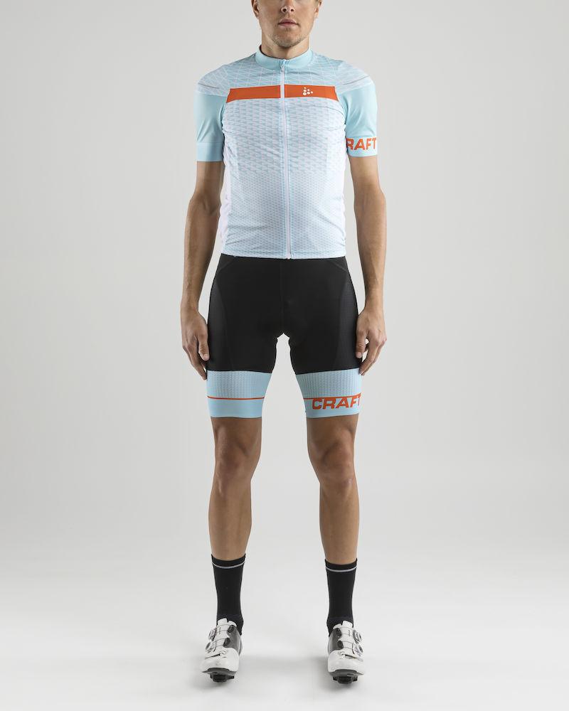e86b72ed3f38c Pánsky vysoko technicky prepracovaný cyklistický dres a krátke cyklistické  nohavice s trakmi sú určené pre najnáročnejších bikerov. Vysoký komfort pri  jazde ...