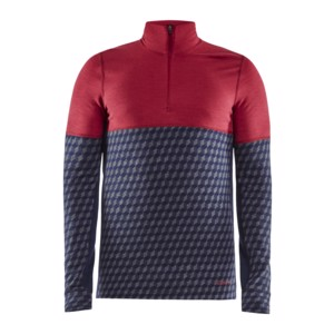 Tričko CRAFT Merino 240 Zip LS